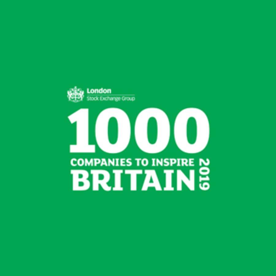 1000 Companies to Inspire Britain 20196