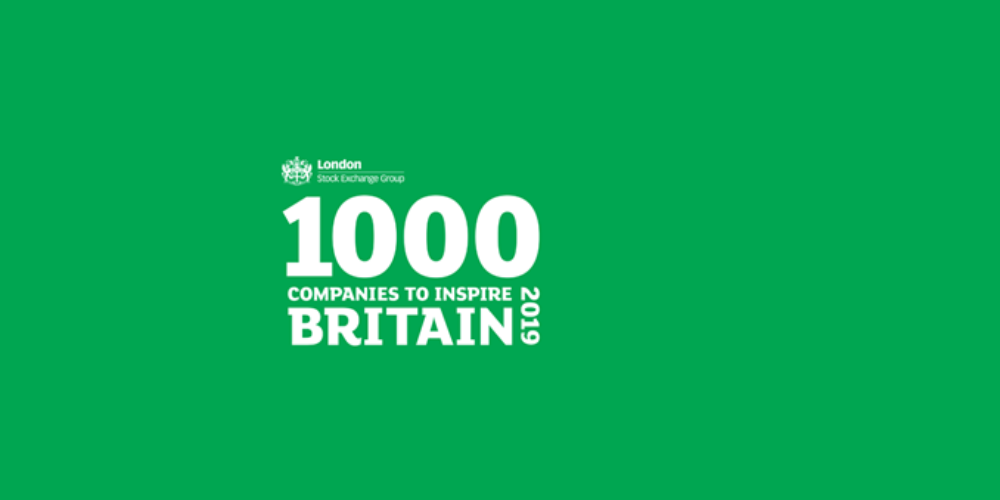 1000 Companies to Inspire Britain 20196